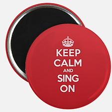K C Sing On Magnet