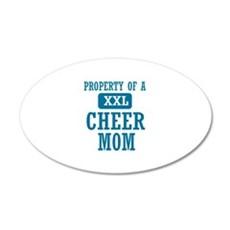 Cool Cheer mom designs Wall Decal