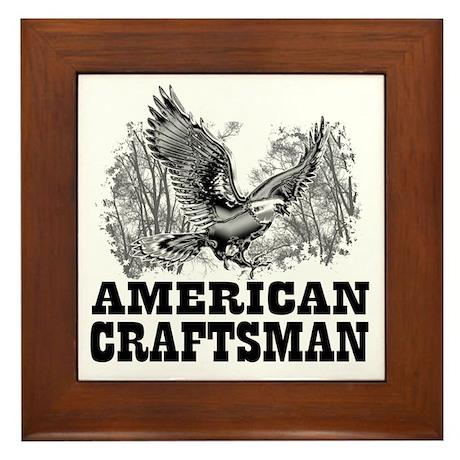 American Craftsman Framed Tile