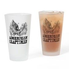 American Craftsman Distressed Drinking Glass