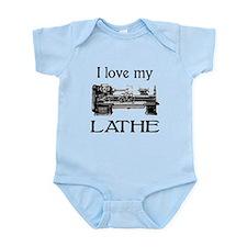 I Love My Lathe Infant Bodysuit