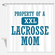 Cool Lacrosse Mom designs Shower Curtain