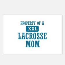 Cool Lacrosse Mom designs Postcards (Package of 8)
