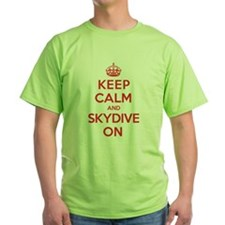 K C Skydive On T-Shirt
