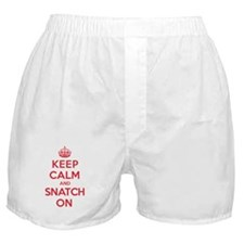 K C Snatch On Boxer Shorts