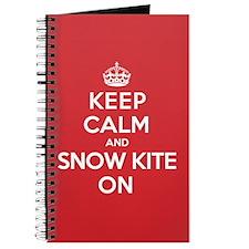K C SnowKite On Journal