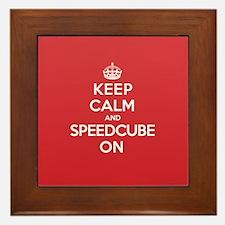 K C Speedcube On Framed Tile