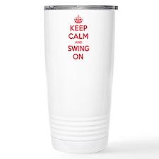 K C Swing On Travel Mug