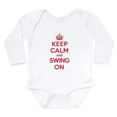 K C Swing On Long Sleeve Infant Bodysuit