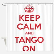 K C Tango On Shower Curtain