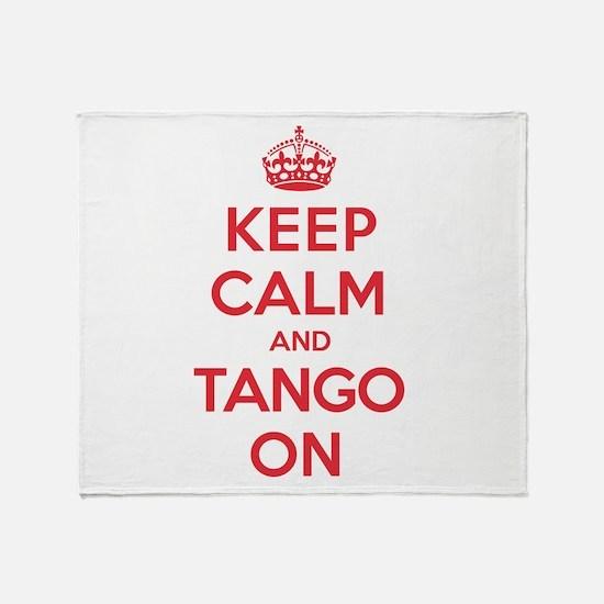 K C Tango On Throw Blanket