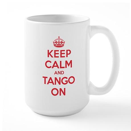 K C Tango On Large Mug