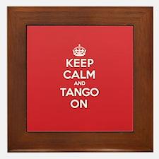 K C Tango On Framed Tile