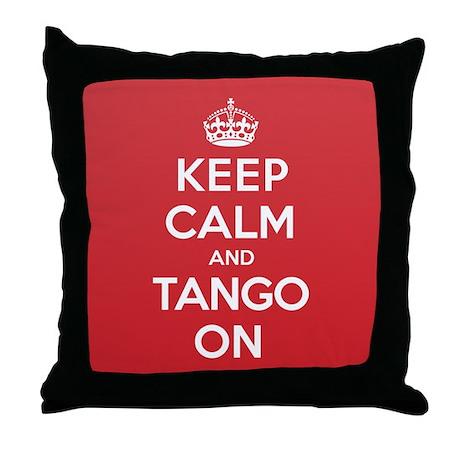 K C Tango On Throw Pillow