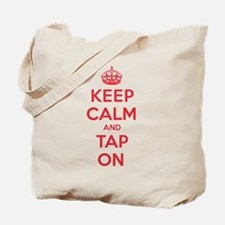 K C Tap On Tote Bag