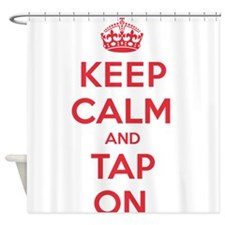 K C Tap On Shower Curtain