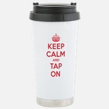 K C Tap On Travel Mug