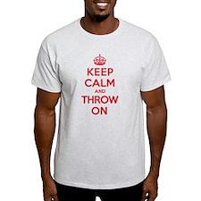 K C Throw On T-Shirt