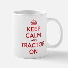 K C Tractor On Mug