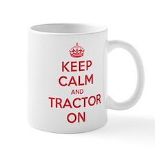 K C Tractor On Small Mug