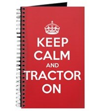 K C Tractor On Journal
