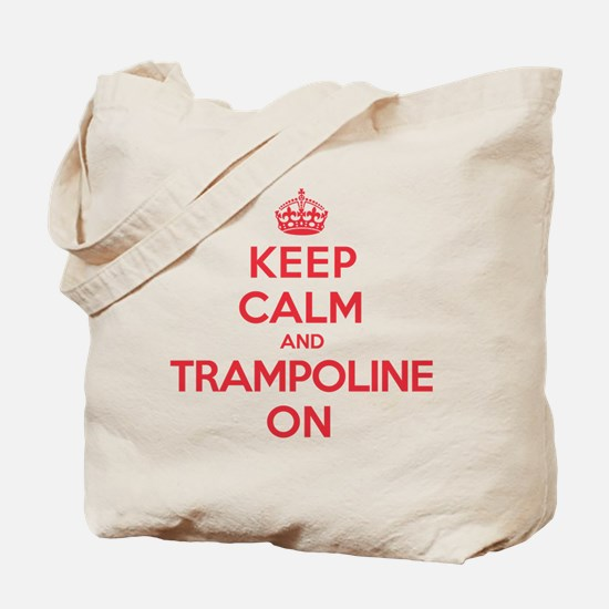K C Trampoline On Tote Bag