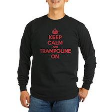 K C Trampoline On T