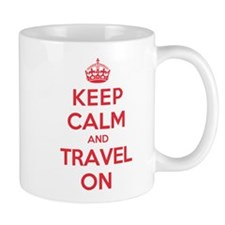 K C Travel On Mug