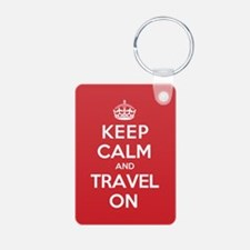 K C Travel On Keychains