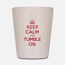 K C Tumble On Shot Glass