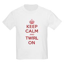 K C Twirl On T-Shirt