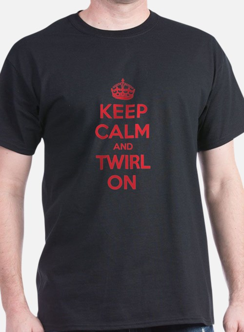 K C Twirl On T-Shirt