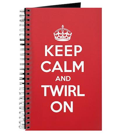 K C Twirl On Journal
