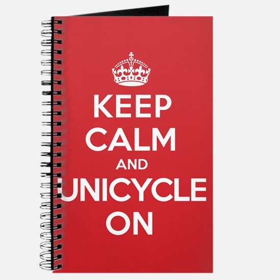 K C Unicycle On Journal