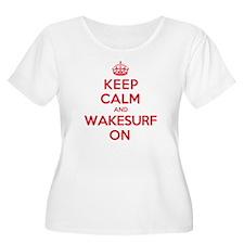 K C Wakesurf On T-Shirt