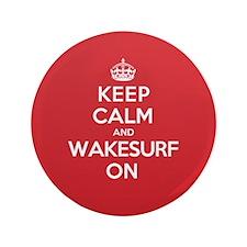 "K C Wakesurf On 3.5"" Button (100 pack)"