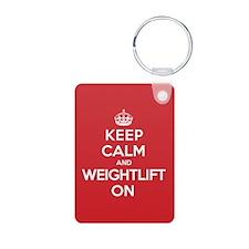 K C Weightlift On Keychains