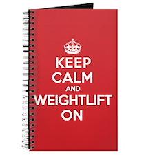 K C Weightlift On Journal