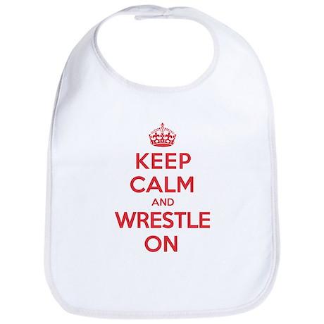 K C Wrestle On Bib