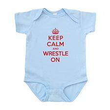 K C Wrestle On Infant Bodysuit