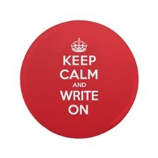 "K C Write On 3.5"" Button"