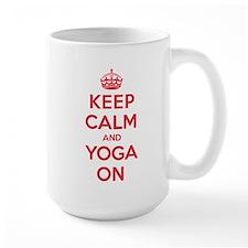 K C Yoga On Mug