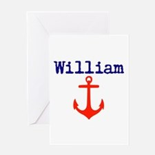 William Anchor Greeting Card