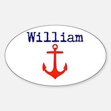 William Anchor Decal