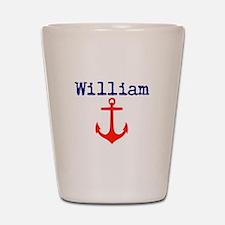 William Anchor Shot Glass