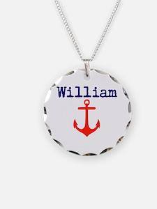 William Anchor Necklace