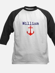 William Anchor Kids Baseball Jersey