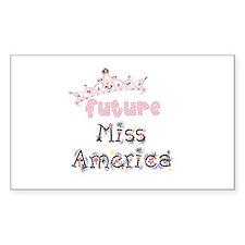 Future Miss America Decal