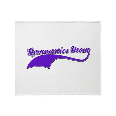 Gymnastics Mom designs Throw Blanket