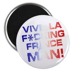 Vive La F*cking Cage Magnet!